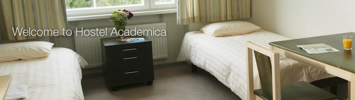 Academica Summer Hostel room